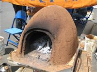 Mud Oven MOther Earth News Fair 3