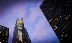 Bank of America Tower at Magic Hour - Manhattan, NYC