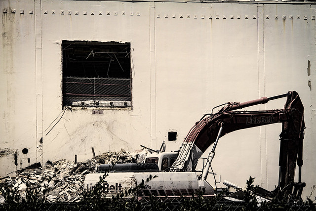 Downey Studios demolition