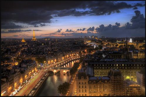 View over the Seine