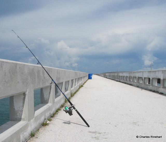 Fishing bridge on little duck key in the florida keys for Florida keys bridge fishing