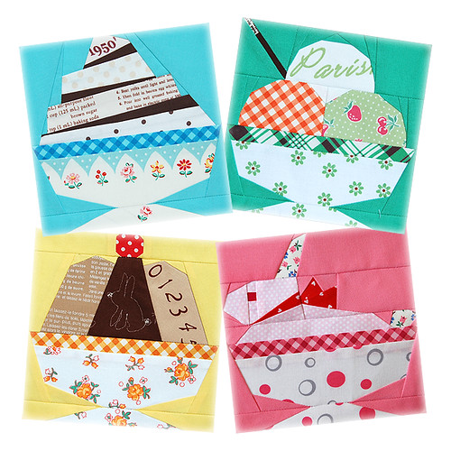 Super Penguin QAL August Blocks!  ~ Dishy Treat ~