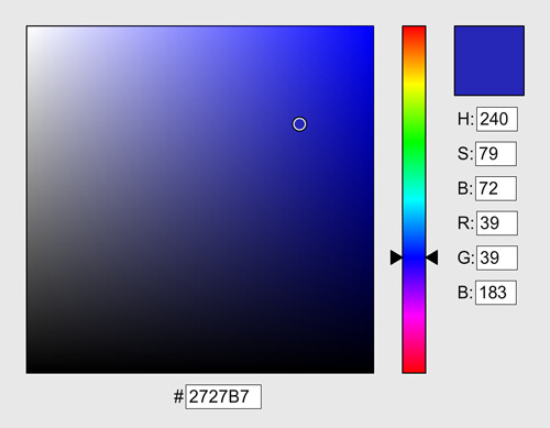 Color Picker UI Elements