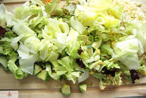 Summer Veggie Chopped Salad
