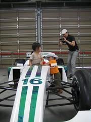 はい、F1ですよー