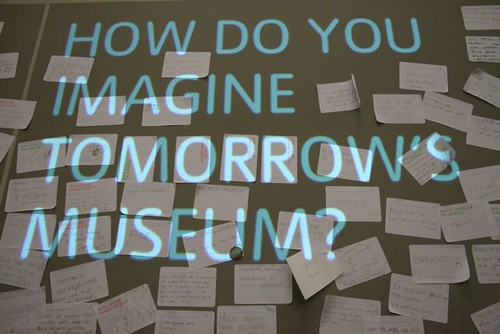 HOw do you imagine tomorrow's museum?