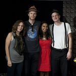 The Lumineers perform on 8.7.12 live in WFUV's Studio A. Photo by Andrew Arne.
