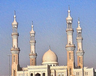 arabian mosque