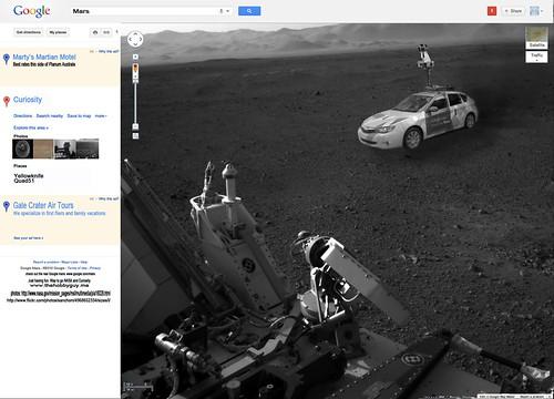 Google Streetview: Mars