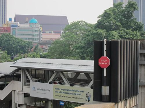 Monorail Terminal by wanhashim