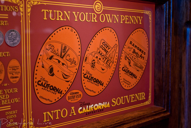Elysian Arcade Penny Press - Buena Vista Street -Disney California Adventure