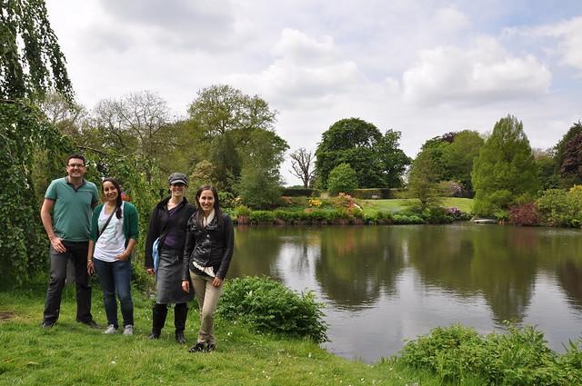 Pretty pond at Sandringham House