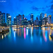 """The City of Dreams"" :: Singapore Skyline @ dusk"