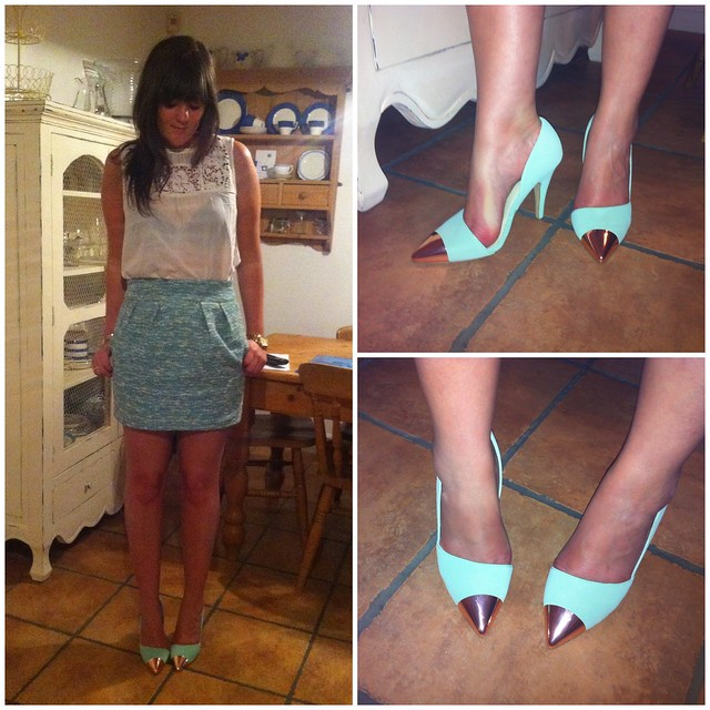 Nelly shoes mint green jade
