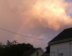 Rainbow over Roofline by randubnick