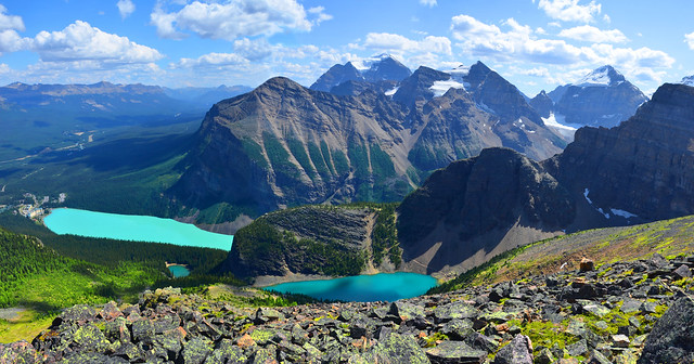 Lake Louise panorama #3223