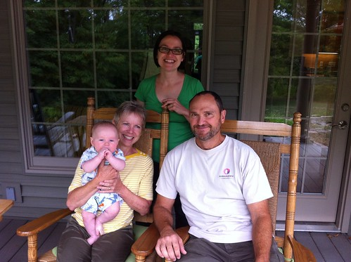 Family on the Porch