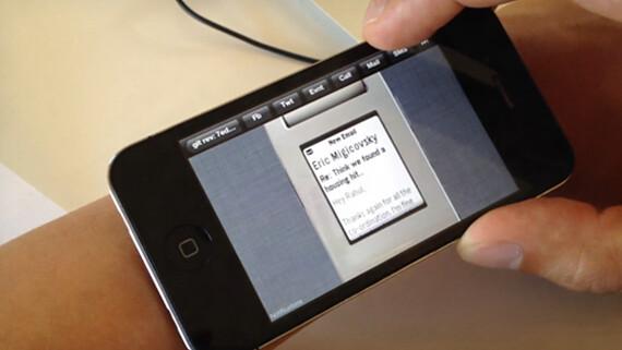 Pebble watch iPhone