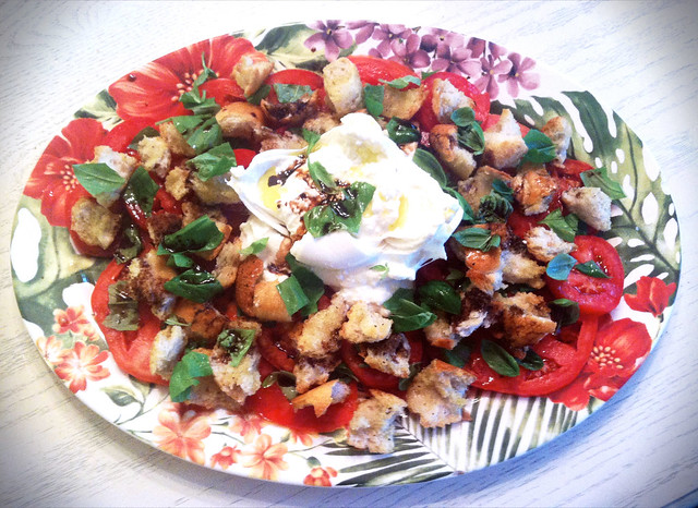 Tomato, Basil, & Burrata Salad