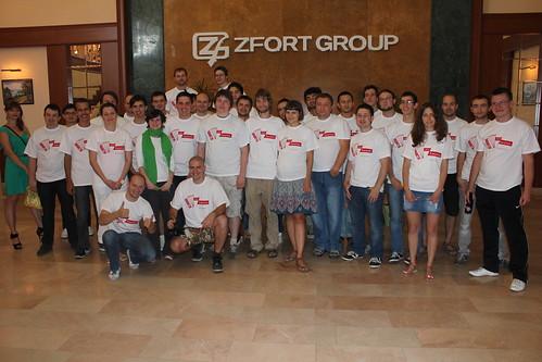 Hackathon at Zfort Group Office