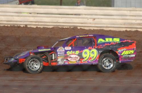 8.11.12 ABC Raceway - WISSOTA Midwest Modified 99 k John Kallas