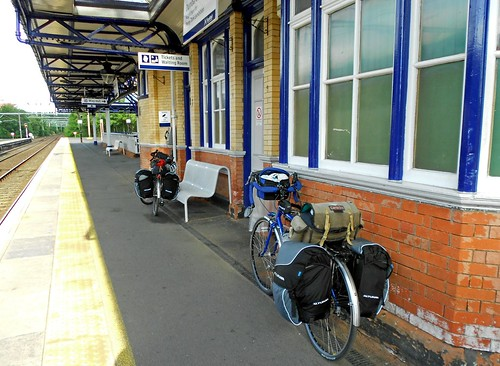 Bicycles on the Platform
