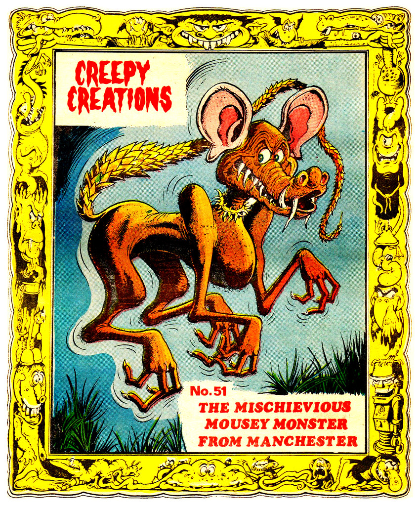 Creepy Creations No.51 - The Mischievious Mousey Monster From Manchester