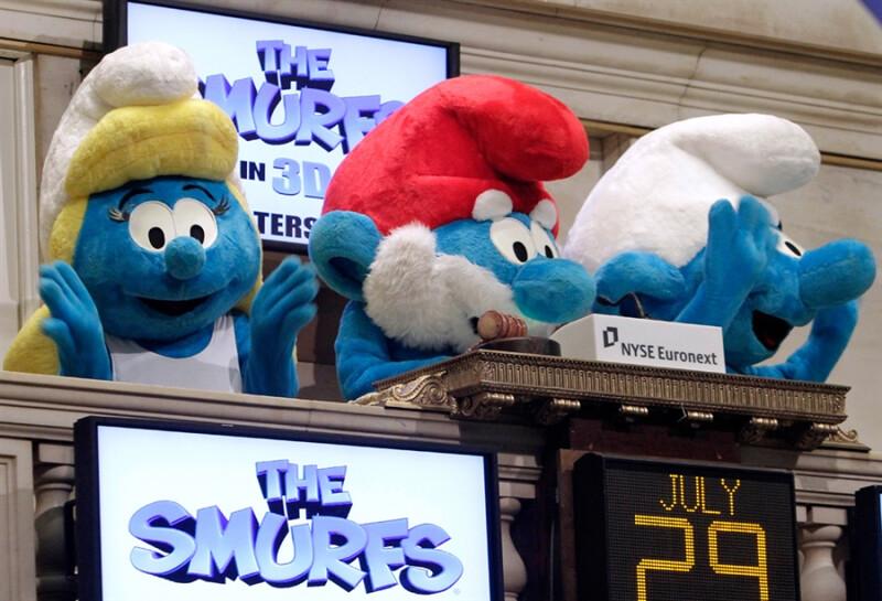 Wall Street e a Cultura Pop smurfs
