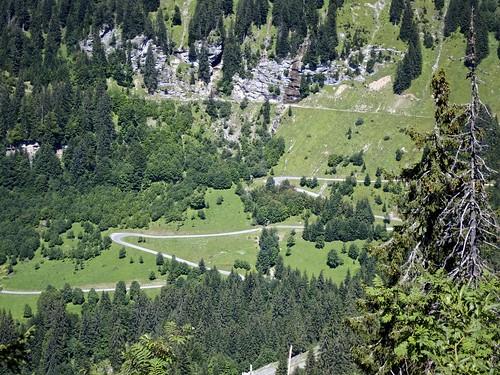 Hairpins - Col de la Joux Verte