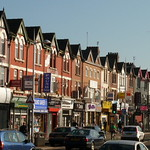 Curry Mile - Wilmslow Road in Rusholme, Manchester
