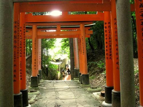 Fushimi Inari Taisha exit