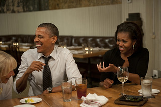 Dinner with Barack and Michelle—August 20th, 2012