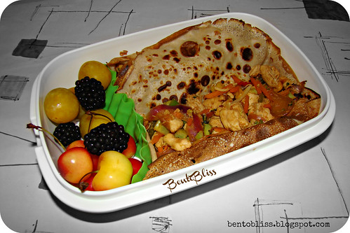 Chinese Crepes Bento