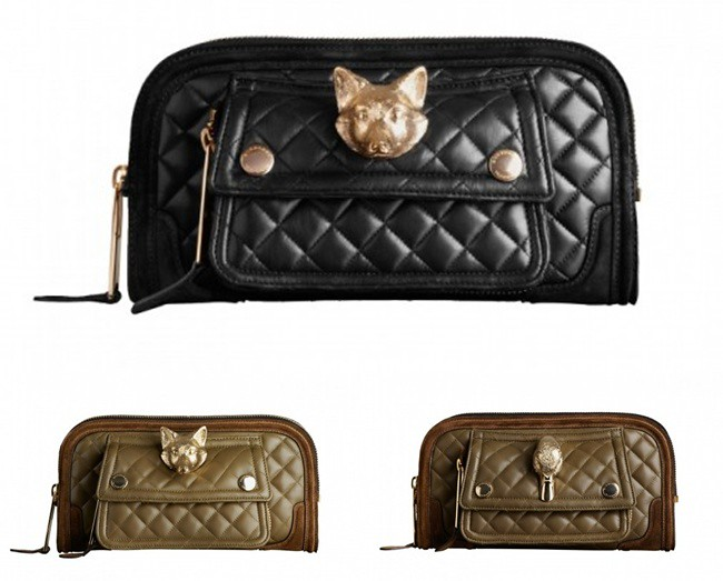 2 quilted clutch