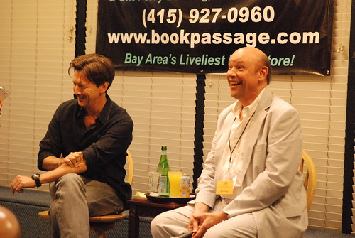Andrew McCarthy and Don George at Book Passage
