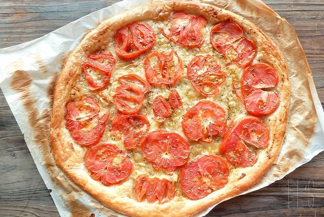 Tarte fine de tomates