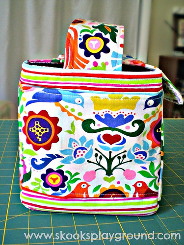 Folklorico Lunch Box Side View