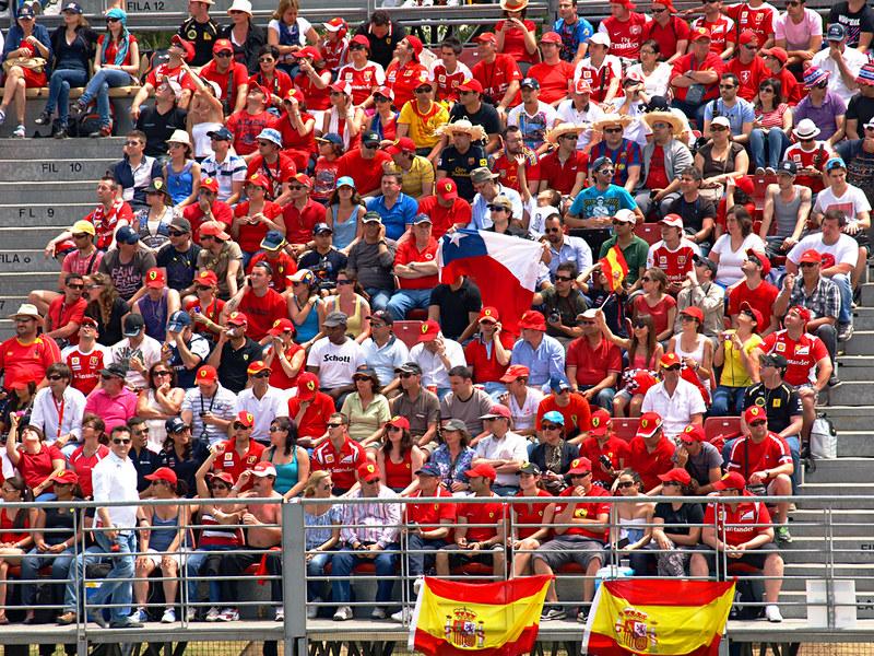 Fernando Alonso fans, Spanish Grand Prix, Circuit de Catlunya, Barcelona