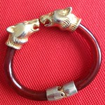 brown panther bangle