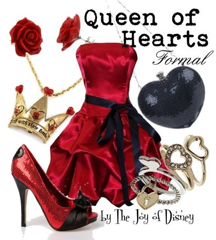Queen of Hearts (Alice in Wonderland)