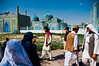 Crowd at Hazrat Ali Shrine in Mazar-e Sharif by Fabien Dany