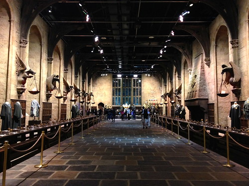The Great Hall, as seen in Harry Potter