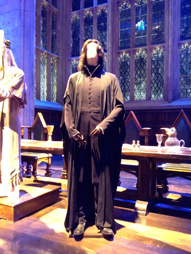 Snape's robe, worn by Alan Rickman in Harry Potter and the Goblet of Fire