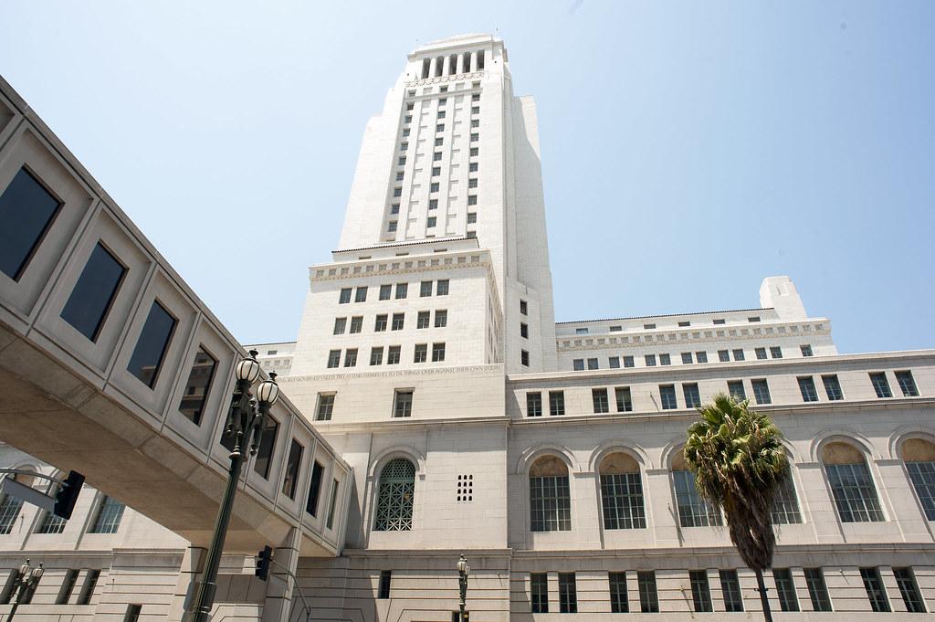 Los Angeles Мэрия со смотровой наверху