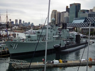 Kuva HMAS Vampire. new museum wales harbour vampire south class submarine destroyer national maritime nsw darling oberon daring onslow hmas