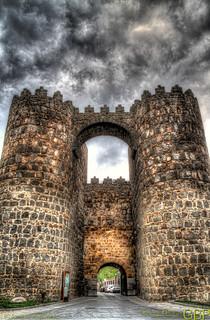 The door to Avila