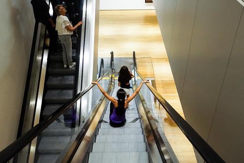 Escalator, MoMA