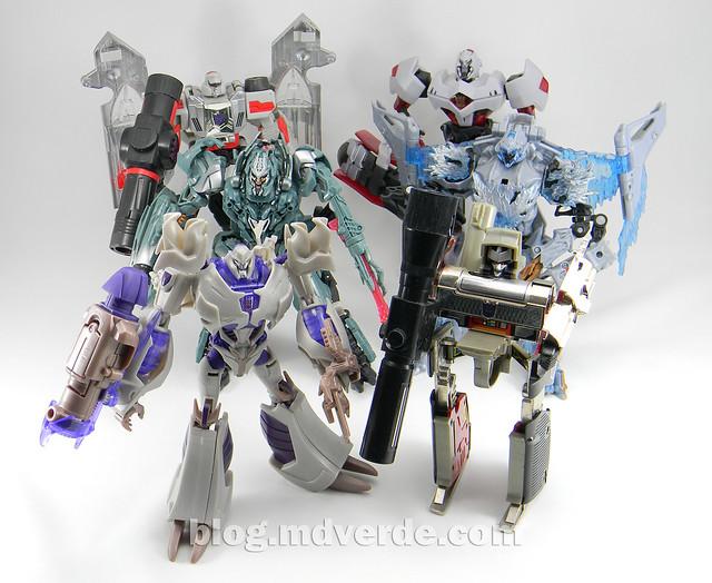 Transformers Megatron Voyager - Prime RID - modo robot vs otros Megatron