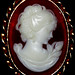 189/365 365 Days in Colour - Cream Cameo Brooch