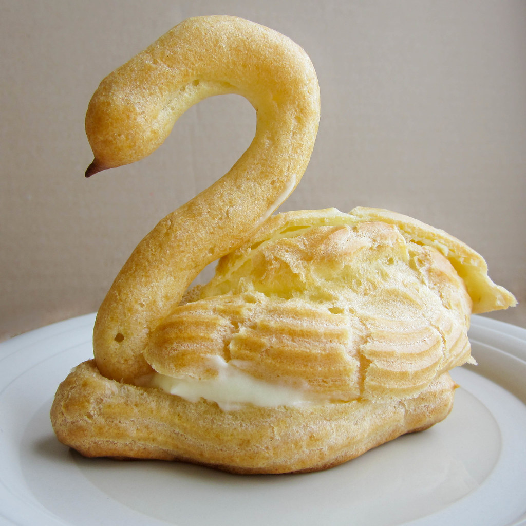 The Youngest Dragon: Pate a Choux Swans